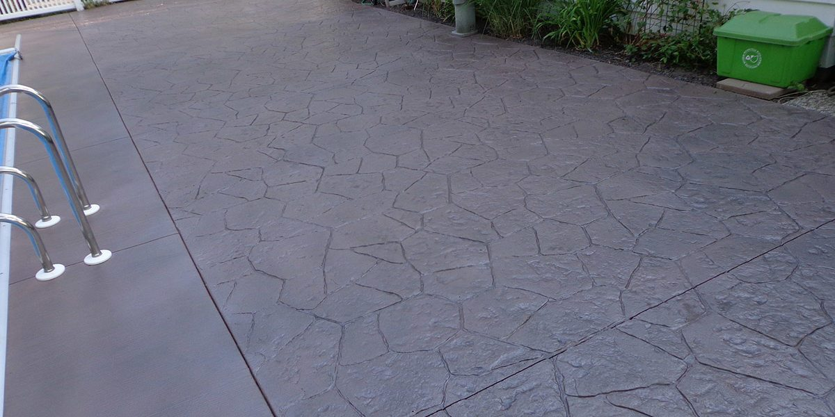 Stamped Concrete Pool Deck Chula Vista