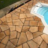 Pool Deck Stamping