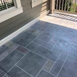 tile stamped concrete floors for porch